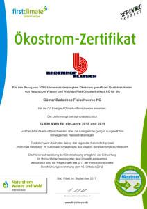 oeko-strom-zertifikat